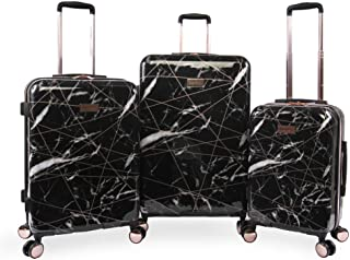 Juicy Couture Vivian 3 Piece Hardside Spinner Luggage Set