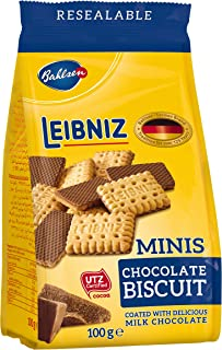 Bahlsen Leibniz  Chocolate Biscuits Minis 100 grams
