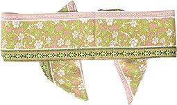 BSS1744 - Woven Skinny Floral Print Headband