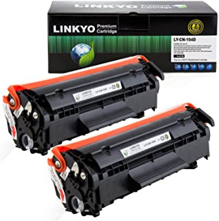 Best LINKYO Compatible Toner Cartridge Replacement for Canon 104 (Black, 2-Pack) Review