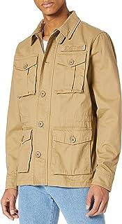 Schott NYC Men's Blouson Militaire Boutonne Jackets