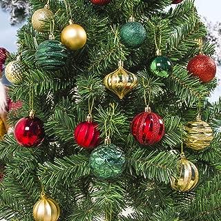 m·kvfa 30PCS Christmas Ball Xmas Christmas Tree Ornament Hanging Home Party Supplies Decor for Holiday Wedding
