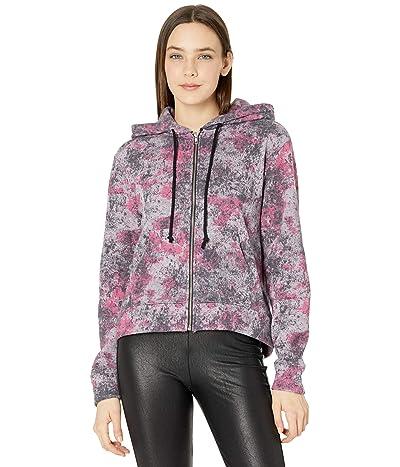 Alternative Chelsea Printed Eco Fleece Full Zip Hoodie