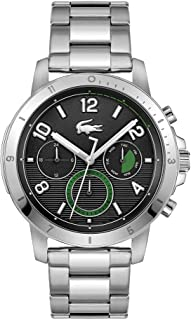 LACOSTE TOPSPIN MEN's BLACK DIAL WATCH - 2011123