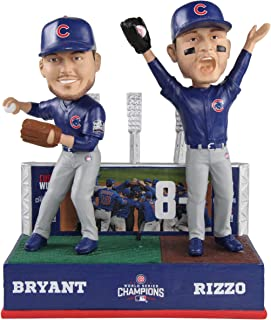 FOCO Anthony Rizzo Kris Bryant Pat Hughes Chicago Cubs World Series MLB Bobblehead