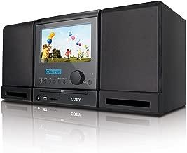 Coby TFDVD7091 7-Inch DVD/MP3/CD Player and ATSC/NTSC TV Tuner, Black