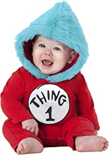 thing 1 and 2 baby costumes