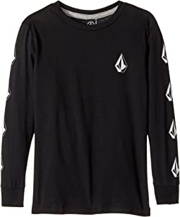 Volcom Kids - Deadly Stone Long Sleeve Tee (Toddler/Little Kids)