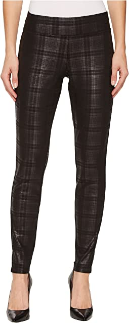 HUE - Plaid Foil Leggings