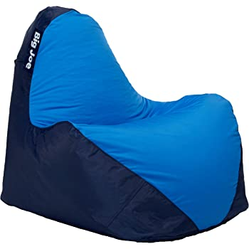 Big Joe Warp Bean Bag, Navy/Blue