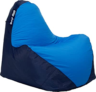 Big Joe Warp Bean Bag, Navy/Blue