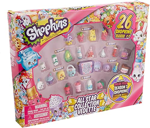 Shopkins All Star Collection Season 1-7