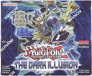 Yu-Gi-Oh! - The Dark Illusion Booster Box (sealed) 9 Cards Per Pack/24 Packs Per Box.