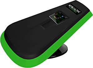 STEALTH Core Gamer Trainer Professional - Dynamic Ab Plank Workout, Interactive Fitness Board Powered by Gameplay Technology for a Healthy Back and Strong Core (Glow Green)