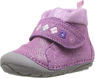 Kids Sophie Baby Girl's Adjustable Suede Boot Ankle