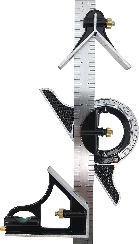 List price Elitexion 12 inches Combination Tri-Square Set New sales