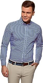 Ultra Men's Checkered Slim-Fit Shirt
