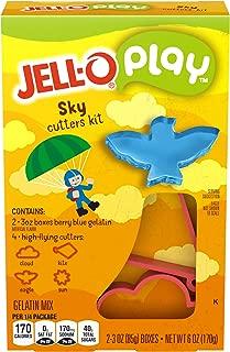 JELL-O Play Sky Cutters Gelatin Dessert Kit (6 oz Box)