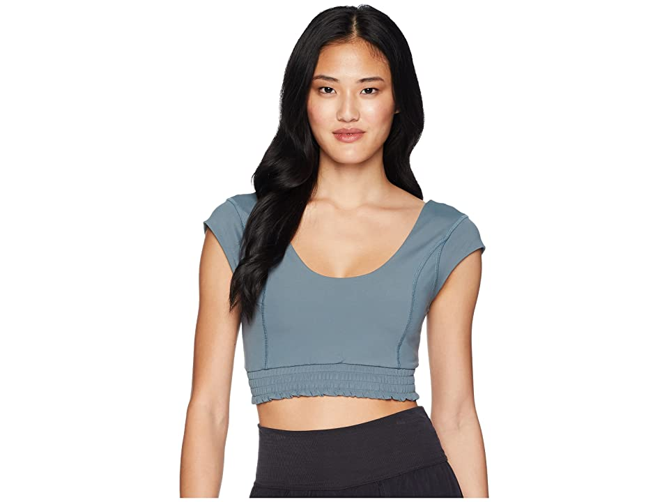 Free People Movement Starlight Crop Top (Light Green) Women