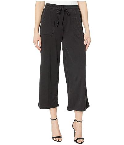 Fresh Produce Jetsetter Capri Pants in Stretchy Modal Rib (Black) Women