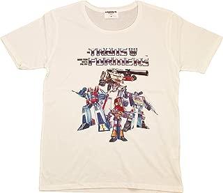 トランスフォーマー【国内公式監修】Tシャツ ディセプティコン集合80' ver. (XL, オフホワイト)