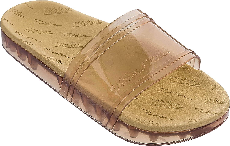 + Melissa Luxury shoes Womens x Rider Slide Flat Sandal