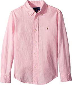Polo Ralph Lauren Kids - Linen-Cotton Shirt (Little Kids/Big Kids)