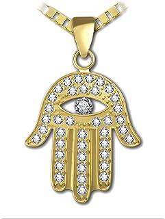 Minimalist Jewelery Bridesmaid Gifts Glazed Black Cherry Boho Hand Fatima Necklace Luck LBhamsa Light Blue Hamsa Evil Eye