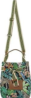 CODELLO Damen Beutel-Tasche | Exotik-Design | 100% Baumwolle Canvas | 31 x 24 x 17 cm