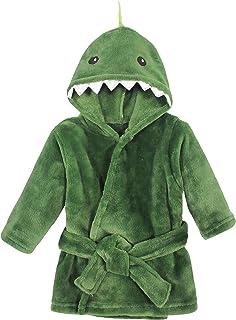 Hudson Baby Szlafroki Uniseks - niemowlęta Hudson Baby Unisex Baby Plush Pool and Beach Robe Cover-ups, Dinosaur