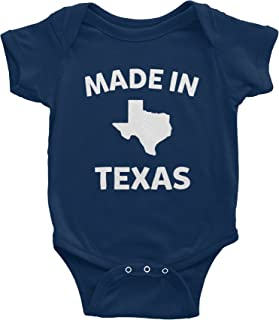 Made in Texas - 002 - Funny Texas Baby Infant Onesie One Piece