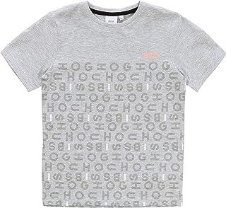 BOSS Camiseta Slim de algodón NIÑO