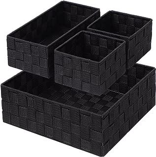 Best black bathroom basket Reviews