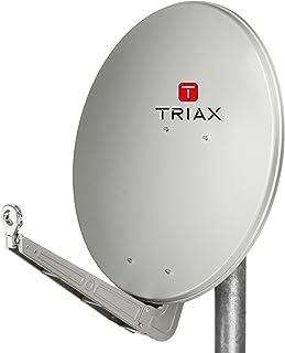 Triax TDA 78 H-1 Satellite Mirror 78 cm Aluminium Brick Red