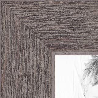 ArtToFrames WOM0066-77900-YGRY-20x28 Barnwood Wood Picture Frame, 20 x 28