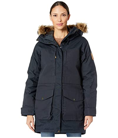 Fjallraven Barents Parka (Dark Navy) Women