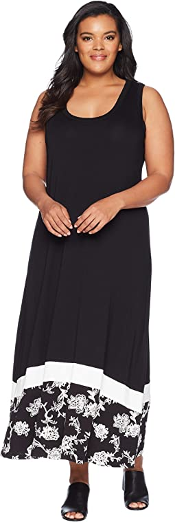 Karen Kane Plus Plus Size Maxi Tank Dress