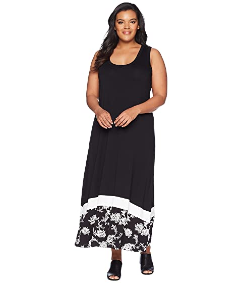 5239ac7c928 Karen Kane Plus Plus Size Maxi Tank Dress at 6pm