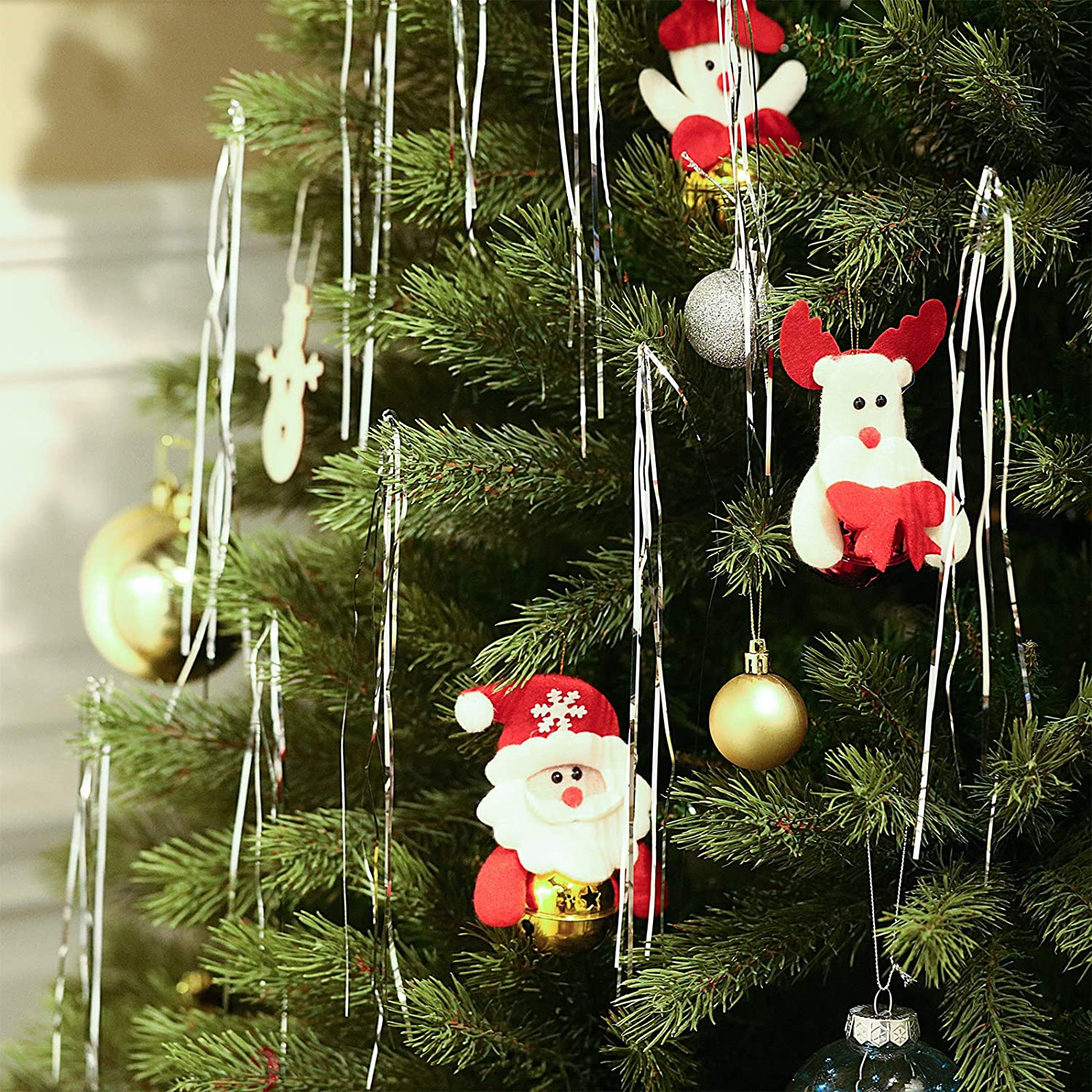 Bargain sale WILLBOND 5000 Strands Christmas Tree Christma overseas Tinsel for Icicles