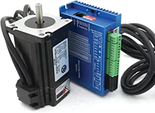 Nema24 3N.m Closed Loop Stepper Servo Motor 88mm 5A+HSS60 Hybrid Driver CNC Kit for CNC Router Engrvaving Milling Machine