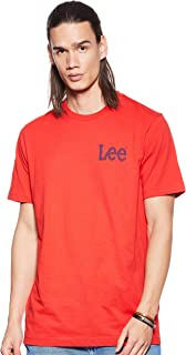 Lee Mens BIG LOGO TEE Men's T-Shirts