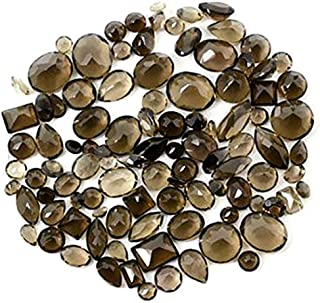 Wholesale 50 + Carats mix Smokey Topaz, Loose Faceted Stones, Smokey Topaz Mix, AAAmazing Cut and Quality, Mix Gems, Mixed...