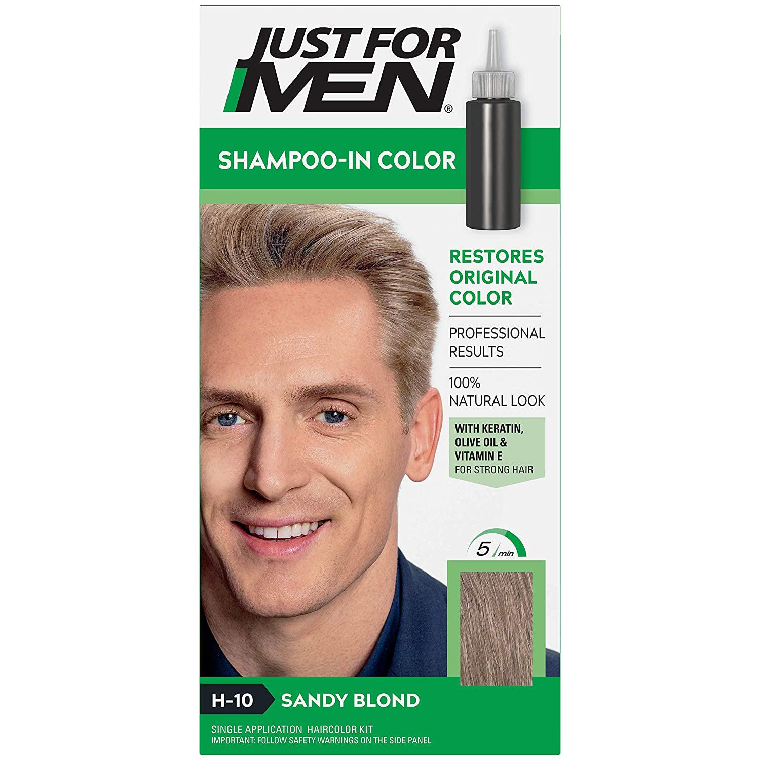 JUST FOR MEN NEW before selling ☆ Hair Color H-10 Sandy Pack of ea 1 Blond 2 Cheap mail order specialty store