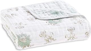 Best aden + anais Disney Dream Blanket | Boutique Muslin Baby Blankets for Girls & Boys | Ideal Newborn Nursery & Crib Bedding | Plush Toddler & Infant Blankets | Shower & Registry Gift Items| Lion King Review