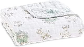 lion baby quilt