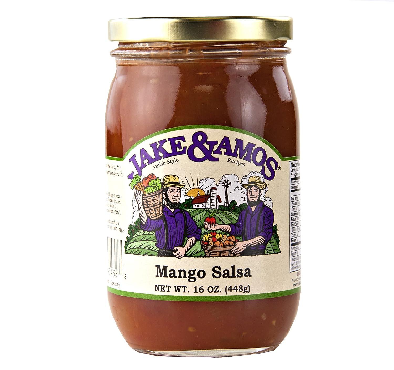 Limited price Jake Max 85% OFF Amos Mango Salsa 3 16 Jars oz.