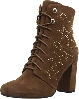 Amazon Brand - The Fix Women's Sheena Lace-Up Bootie with Studded Star Embellishment Fashion Boot