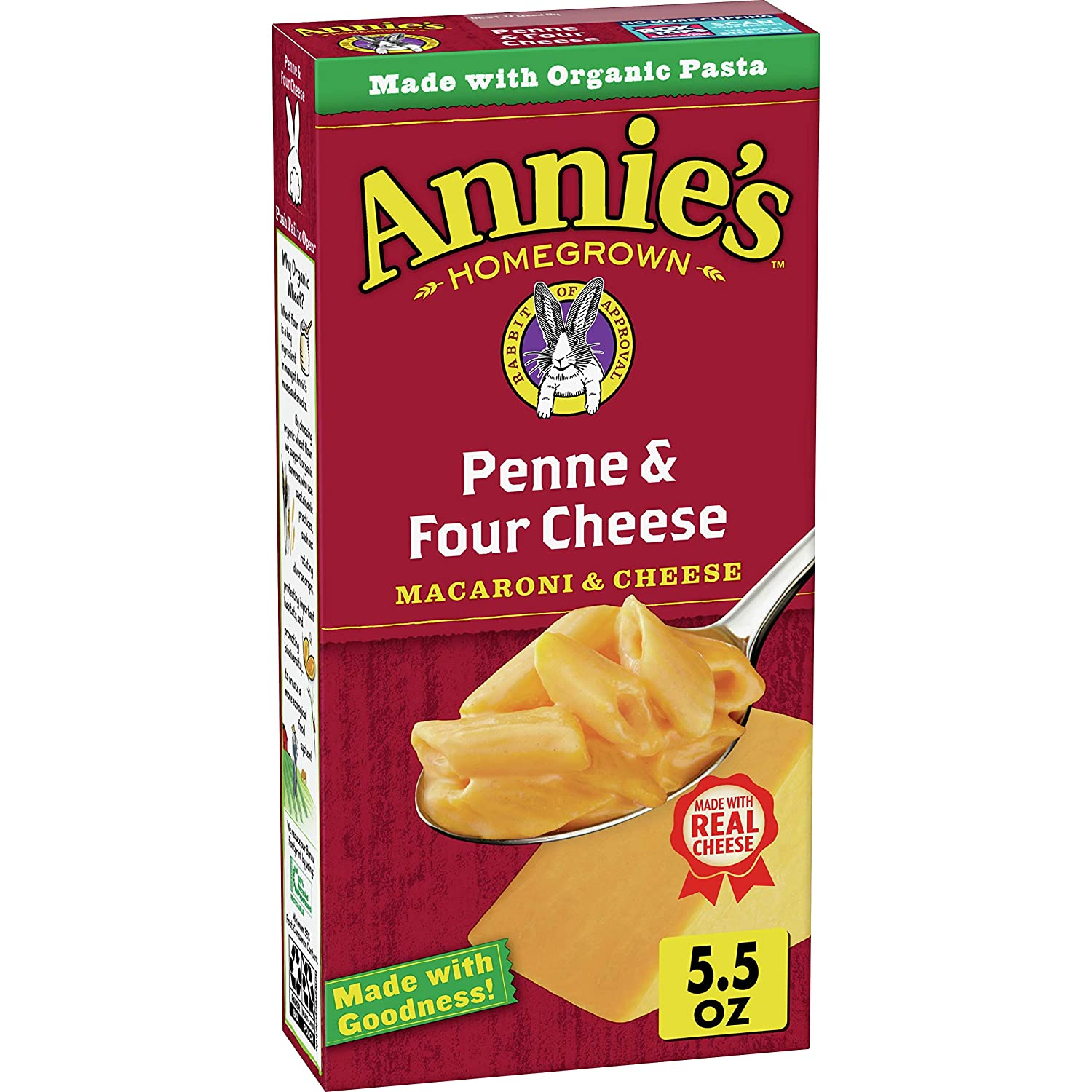 Annie's depot Four Cheese Macaroni and 12 oz of 5.5 Los Angeles Mall Pack