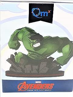 Quantum Mechanix Abysse Corp_FIGQMX022 Marvel-Q-Fig Hulk, Multi Colour