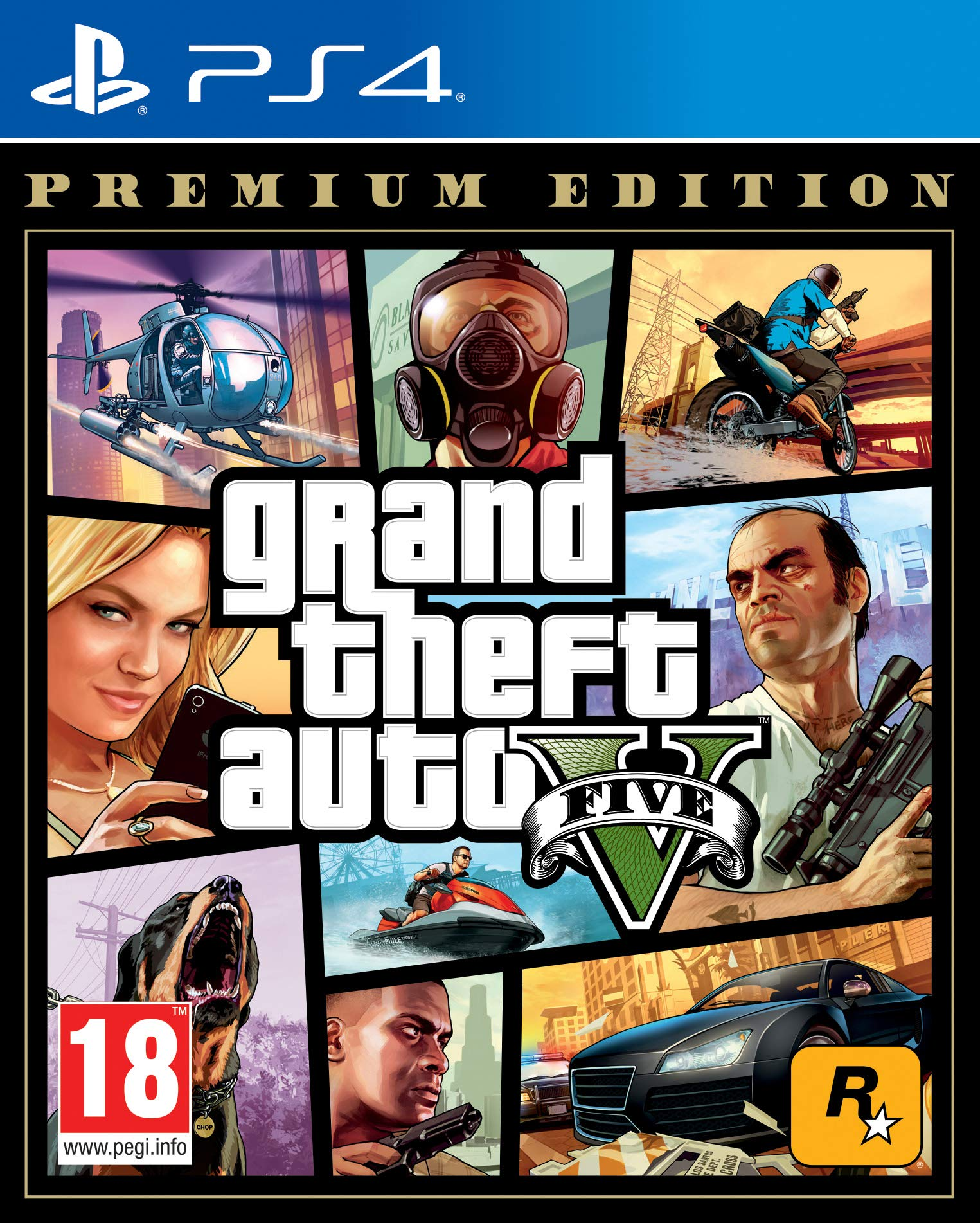 Grand Theft Auto V - Premium Edition: Sony: Amazon.es: Videojuegos